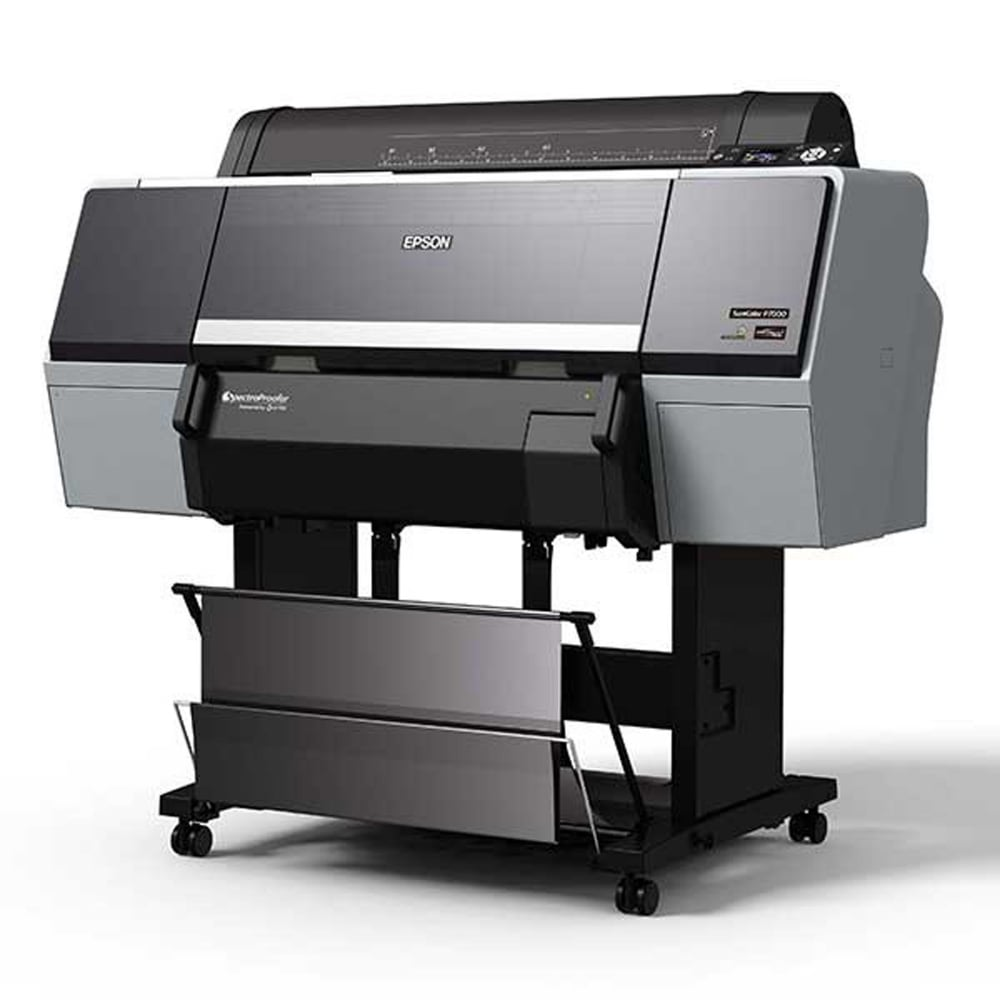 EPSON Stylus 76009600 Wide-Format Printing Methods Make Certification.